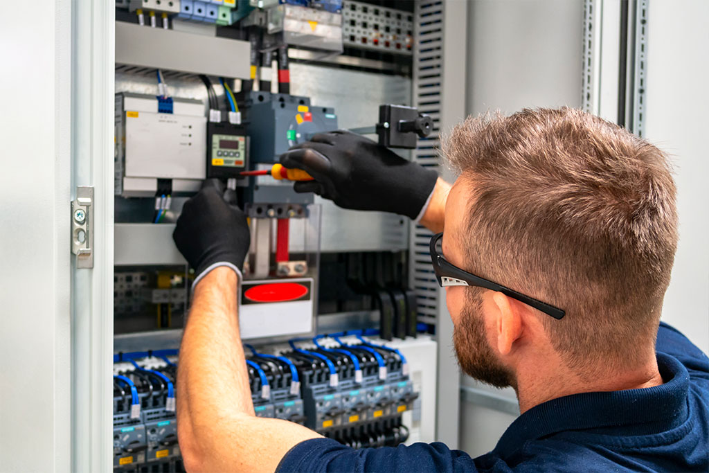 installing a device in an electrical panel